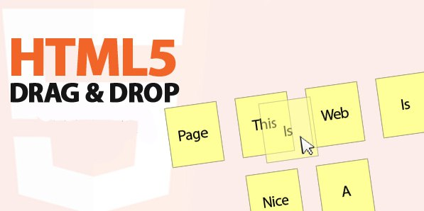 HTML Drag-and-drop